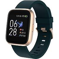 Crossbeats Ignite Smart Watch 2020 1.4'' Full Touch Men Women Fitness Tracker Blood Pressure Blood Oxygen Heart Rate…