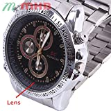 M MHB Wrist Watch Hidden Recording While...