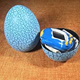BIMAGE Pet Electronic Game Console, Crack Egg Digital Pet Tumbler Toys Virtual Electronic Game Console For Keychain (Blue Egg)