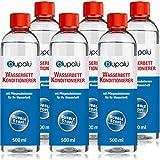 blupalu 6 x 500 ml Wasserbett Conditionierer Set | Conditioner | Konditionierer | Wasserbett-Zubehör | für Alle Wasserbetten