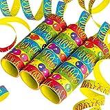 FUSSBALL Geburtstag-Deko-Set, 55-teilig zum Kinder-Geburtstag Jungen und Mädchen und FUßBALL- Motto-Party für 8 Kids - 8