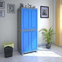 Nilkamal Freedom FB1 Plastic Cabinet Blue/Grey