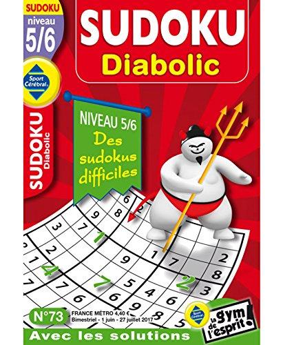 Sudoku Diabolic Niveau 5/6 par sportcerebral