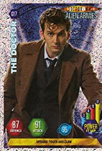 Doctor Who Alien Armies Glitter Card G17