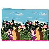 PROCOS-86515 Mantel Masha y el oso, multicolor, unica (Ciao Srl 86515)