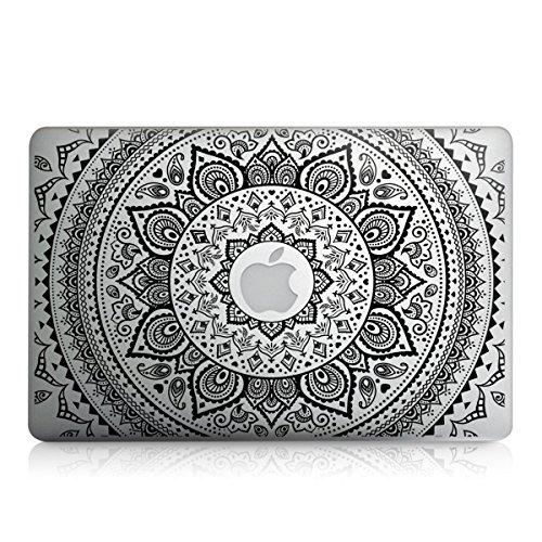 kwmobile Aufkleber Sticker Indische Sonne Design für Apple MacBook Air 13