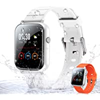 WOEOA Smartwatch Orologio Fitness Donno Uomo 1,3'' Full Touch Activity Tracker, Impermeabil IP68, Cardiofrequenzimetro…