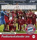 FC Bayern München Sammelkartenkalender 2020 16x17cm