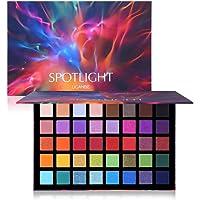 UCANBE 40 colori Spotlight Palette di ombretti Lucentezza multi-riflesso Glitter Pavone Ombretto Ombretto professionale…