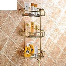Todos los bastidores de la cesta de cobre triángulo antigua/plataforma europea baño/trípode/capa