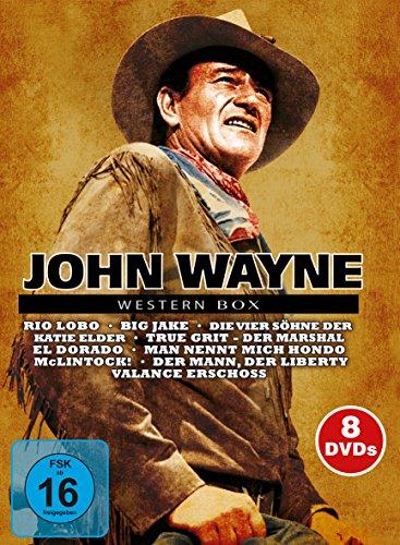 Bild von John Wayne Western Box [8 DVDs]