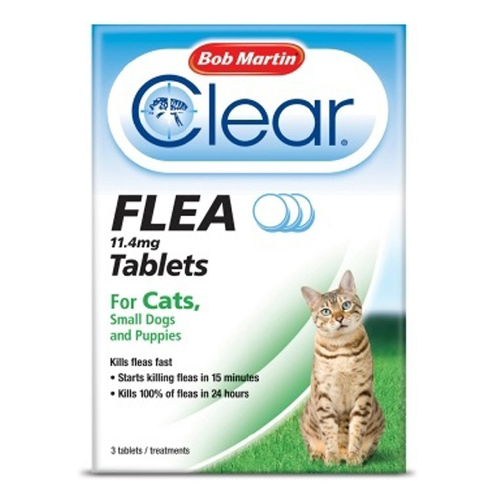 Bob martin flea tablets for cats and small dog under 11 kg 3 bob martin flea tablets for cats and small dog under 11 kg 3 tablets amazon pet supplies ccuart Gallery