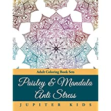 Paisley & Mandala Anti Stress: Adult Coloring Book Sets