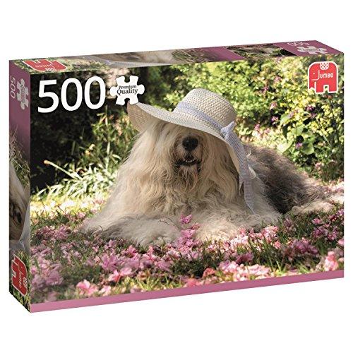 Jumbo in a Bed of Flowers pcs Sophie en un lecho de Flores, Puzzle de 500 Piezas (618530)