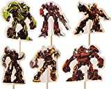 Transformers-Kuchen-Toppers (Packung mit 24)