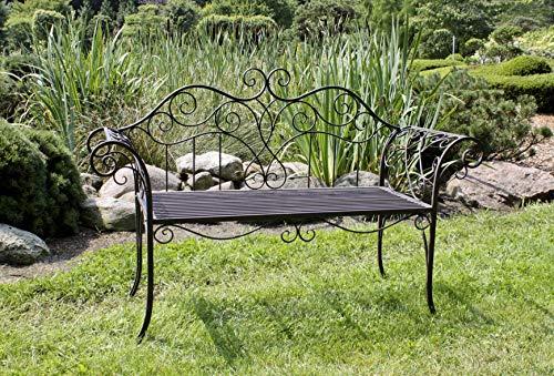 2-Sitzer Gartenbank Viva La France aus Metall - 2