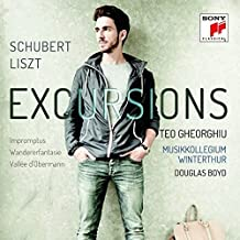 Excursions – Schubert: Impromptus, Liszt / Schubert: Wanderer-Fantasie