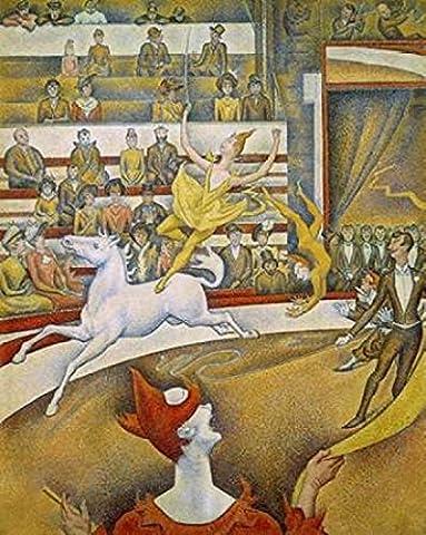 Georges Seurat – The Circus Fine Art Print (55.88 x 71.12 cm)