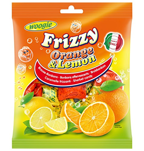 Bonbons Frizzy Orange & Lemon 250g