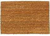matches21 Natur Kokosmatte Kokos Fußabstreifer Fußabtreter 40x60 cm robust hohe Reinigungsfunktion 100% Kokosfasern