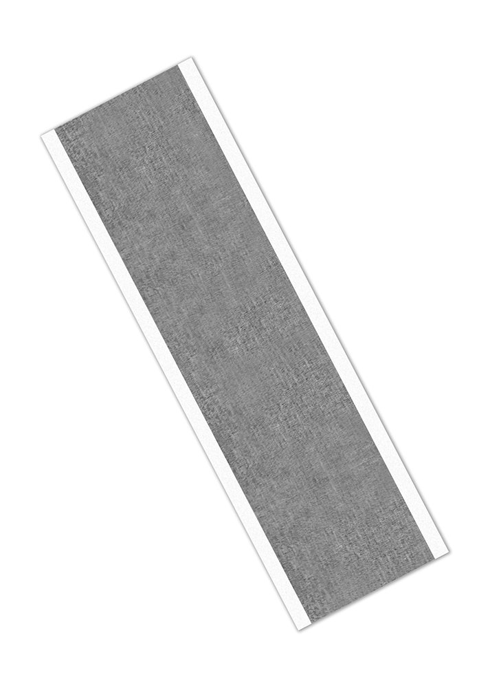TapeCase 433 – Cinta adhesiva de aluminio y silicona de alta temperatura, 5 cm x 22 cm, rectangulares, 0,91 cm de grosor, 21,59 cm de largo, 5,08 cm de ancho (paquete de 25)