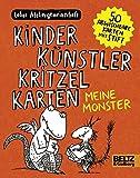 Kinder Künstler Kritzelkarten. Meine Monster: 50 Karten mit einem Stift