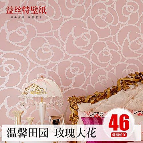 fyzs-tela-no-tejida-reuniendo-fondos-de-pantalla-caliente-yisite-pastoral-rose-dormitorio-living-wal