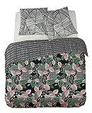 DORAN SOU Geneva design SAHONDRA 200x200 cm - Soldes - Parure de Lit pour 1 ou 2...