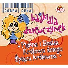 Bajki dla dziewczynek Piekna i Bestia  Krolowa Sniegu  Spiaca Krolewna 3CD