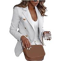 Chollius Giacca Business Donna Cappotto Donna Manica Lunga Blazer Donna Autunnale/Primaverile Giacca Formale dall…