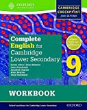 Complete English for Cambridge Lower Secondary Student Workbook 9: For Cambridge Checkpoint and beyond (Cie Igcse Complete)