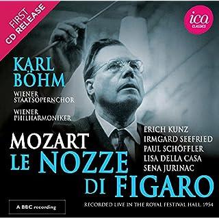 Mozart: Le Nozze Di Figaro  [Erich Kunz; Irmgard Seefried; Paul Schöffler; Lisa Della Casa; Karl Böhm] [Ica Classics: ICAC 5147]