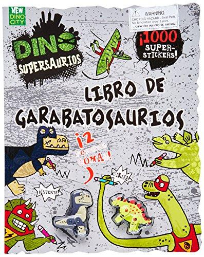 Dino Supersaurios Libro de Garabatosarios par Nikalas Catlow