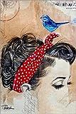 Posterlounge Alu Dibond 120 x 180 cm: Falling Somewhere Else von Loui Jover