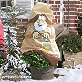 Videx Winter Prote.Cover GNOME Paule Stoff Nicht Stoff Beutel mit