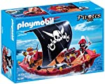 Playmobil Piratas - Barco cors...