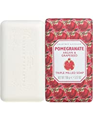 CRABTREE & EVELYN Pomegranate Argan & Grapeseed Triple Milled Soap
