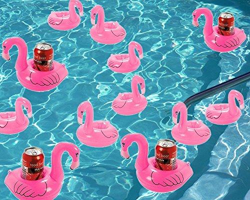 Aufblasbarer Getränkehalter – iLoveCos – Flamingo - 3