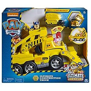 Patrulla Canina - Camión Ultimate Construcción (Bizak 61926769)