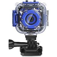 DROGRACE Bambini Bambini Fotocamera Digitale Impermeabile Video HD Action Camera 1080P Videocamera Sportiva Videocamera…
