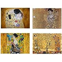 Set 4 Tovagliette Gustav Klimt