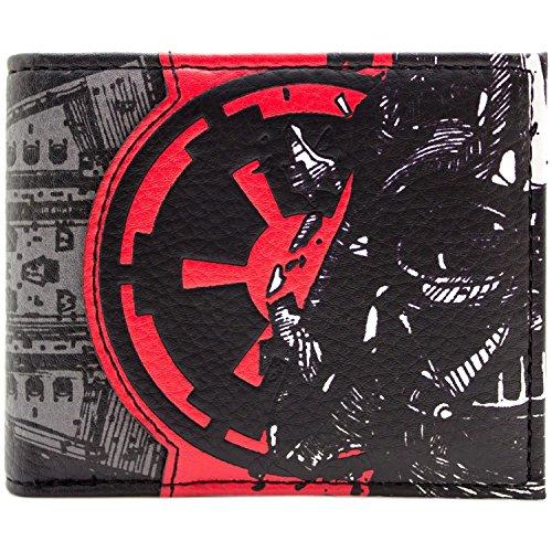 Cartera de Star Wars Darth Vader Imperio Galáctico Negro