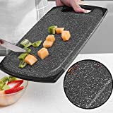 Speckled granite tagliere, Premium Black tagliere in vetro granito work Surface Protector 33 * 20cm 2#