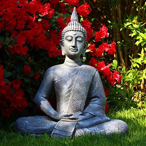 Dszapaci Buddha Statue Groß 65cm Sitzend - 6