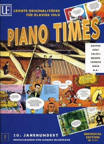 Universal Edition Diverse–Piano Times 2: 20.JAHRHUNDERT mit dibujos animados Band 2–Piano Partition clásico Piano–instrumento de teclado Piano