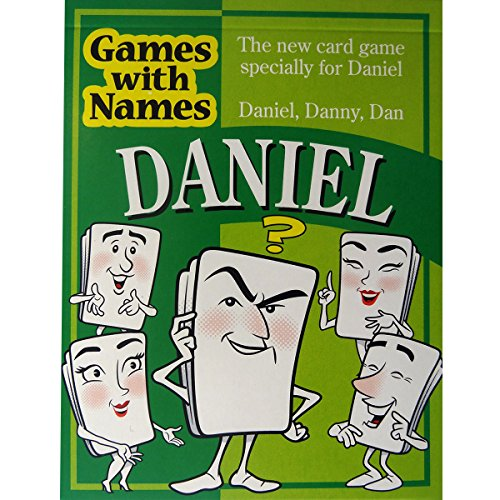 DANIEL'S GAME: The ultimate boys stocking filler for boys or men called Daniel, Danny or Dan.
