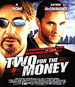 Two For The Money [Blu-ray] [Import belge]