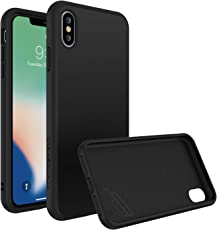 iPhone XS Max Case [RhinoShield SolidSuit] | Schock Absorbierende Dünn Designte Premium Schutzhülle [3,5 Meter Fallschutz] - Klassik Schwarz