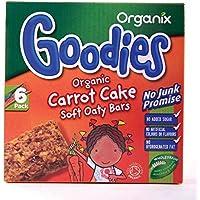 Organix   Carrot Cake Soft Oaty Bars   4 x 6 x 30g