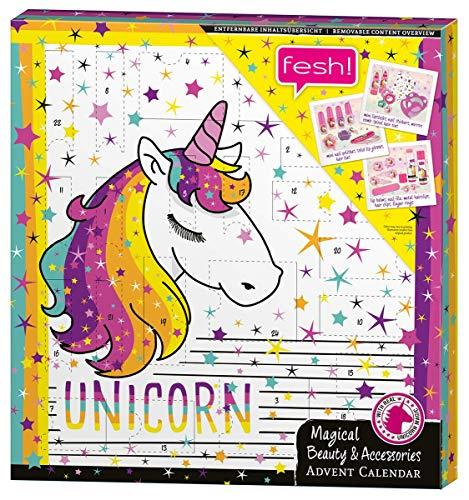 Fesh! Unicorn Advent Calendar Barrettes pour Enfants